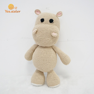 Hot Selling 100% Cotton Dog Soft Toy Crochet
