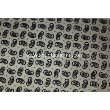 Printed T/C poplin shirt fabric