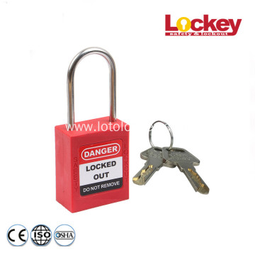 4mm Shackle Stainless Steel Safety Padlock