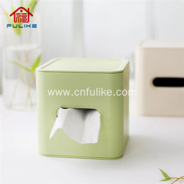 Eco-friendly Bamboo Fiber Tissue Box Napkin Holder