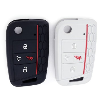 2019 Popular vw 4 button key fob cover