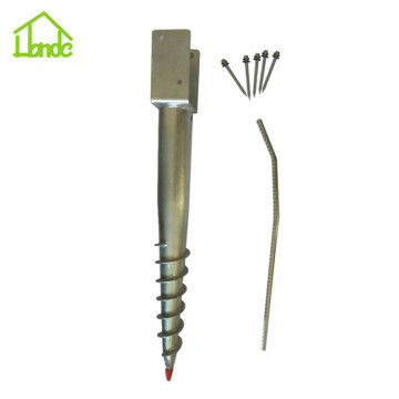 Steel Ground Screw Anchor for Fence Post