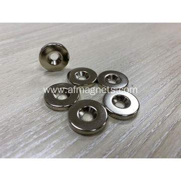 Neodymium Countersunk Ring Magnets