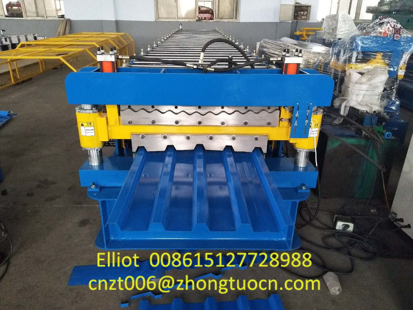 Double Layer Roofing Sheet Machine Produced for South Africa