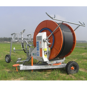 Long Serives Compact Structure Solar Hose Reel Irrigation