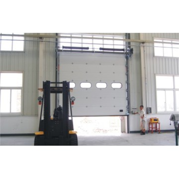 Aluminum Alloy Industrial Upgrading Security Door