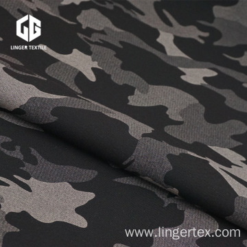 Transfer Printing TC Camouflage Printed Fabric