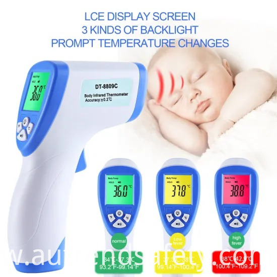 Digital Infrared Thermometer with Ce
