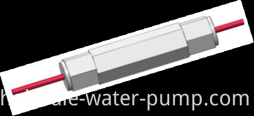 The temperature sensor of the submersible pump1
