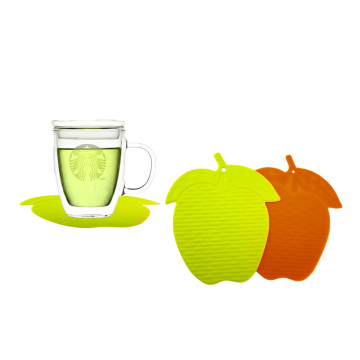 silicone kitchen fruit shape cup table placemat