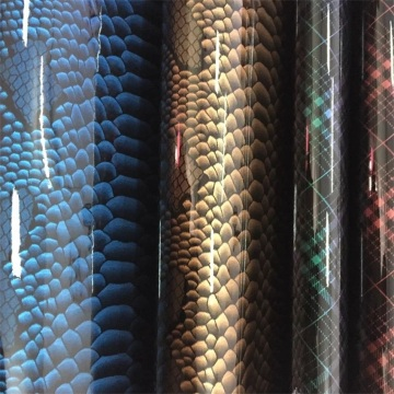 Shiny Snake Mirror Surface Leather for Making Bags