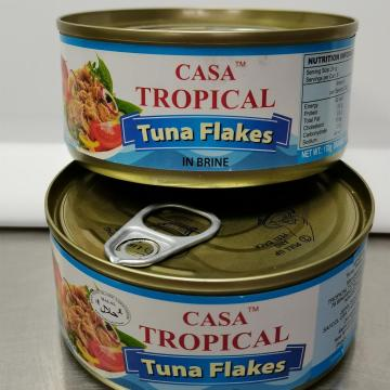 Tropical Canned Tuna In Brine Flake