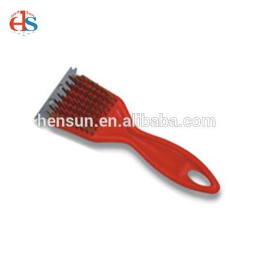 Outdoor BBQ Grill Cleaning Brush with PP Handle