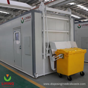 Hazardous Waste Microwave Disinfection