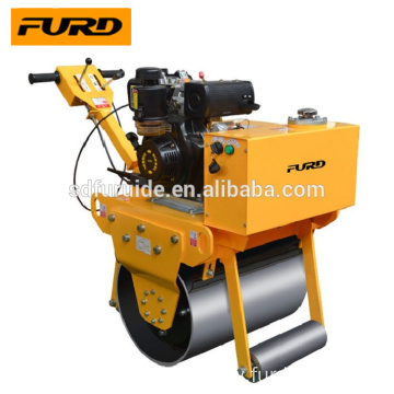 Single drum vibrating mini hand held road roller compactor Single drum vibrating mini hand held road roller compactor