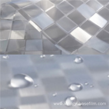 Heat Resistant Frosted Opaque Mosaic Glass Protection Film