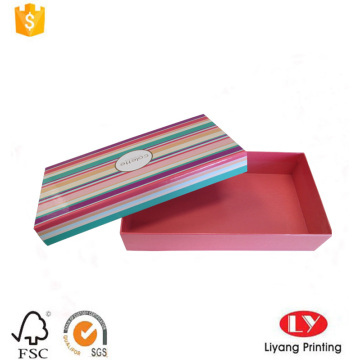 Custom printed gift paper packaging box