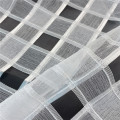New Style Square Jacquard Organza Fabric for Garments