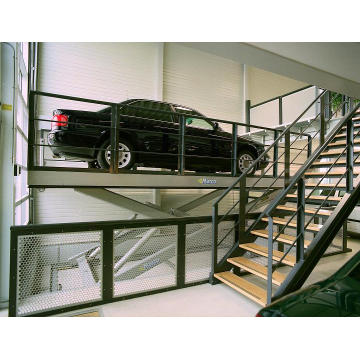 Garage car lift storage