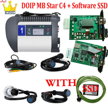 2020 MB star c4 DOIP plus SD Connect with wifi function Diagnostic Tool MB SD C4 HDD SSD with Free Monaco software for Car/Truck