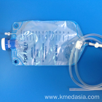medical disposable customized pvc enema bag