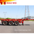 3 Axle 12m 40ft Skeletal Trailer for Sale