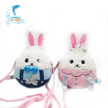Lovely plush Rabbit Backpack