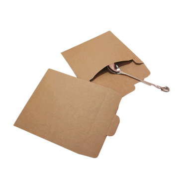 Custom kraft paper envelope for coin/seed/button packaging