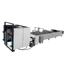 High Speed Automatic Food Paper Bag Making Machine