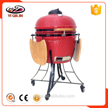 21 inch Green Color Egg Shape Grill