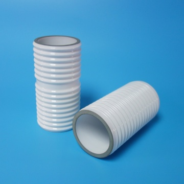 High Purity Alumina Vacuum Ceramic Tube with Metallization