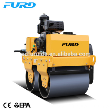 Double Drum Vibrating Manual Roller Compactor
