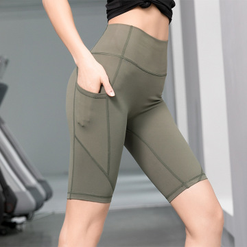 Womens Compression Yoga Shorts