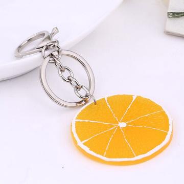 8 Styles! Fresh Fruit Keychain Apple/ Watermelon/ Lemon/ Orange/Pitaya/ Kiwifruit Keyrings Key Holder