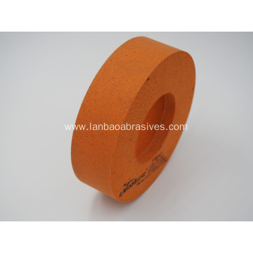 Rubber 10S edging wheel polishing wheel for Glass