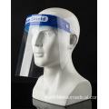 Protective Face Shield Mask with Clear Wide Visor