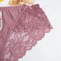 Summer Transparent temptation ladies silk panties