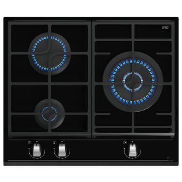 Teka 3-burner Glass Ceramic ExactFlame Function