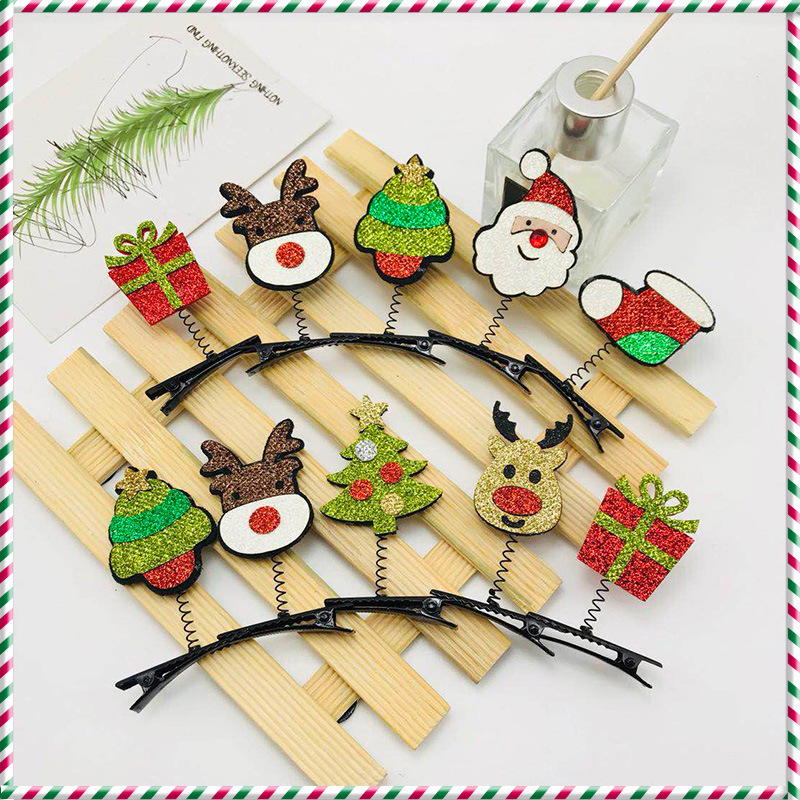Christmas decoration hairpin headband buckle for adult children (1)