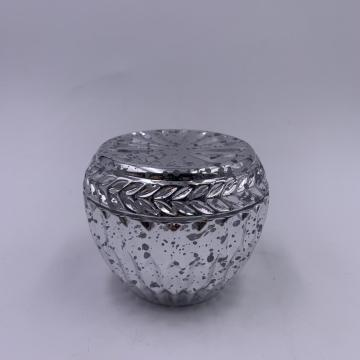 2020 Wholesale silver murcury glass jar