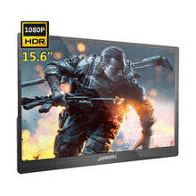 JOHNWILL New Upgrade 15.6 Inch Portable HD Display HDR 1080P FHD Gaming Monitor PC IPS HDMI Type C PS4 Monitor for Xbox Switch