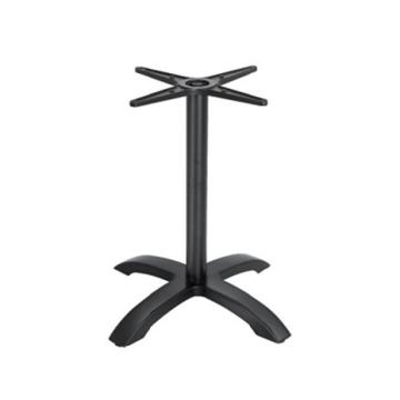 cast aluminum table stool black color