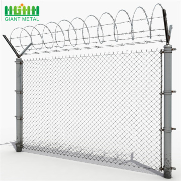 Wholesale ISO Galvanized Used Chain Link Fence