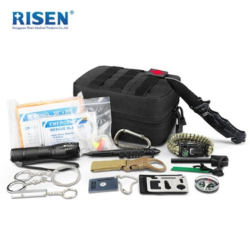 Camping Accessories Survival Kit With Medical First Aid