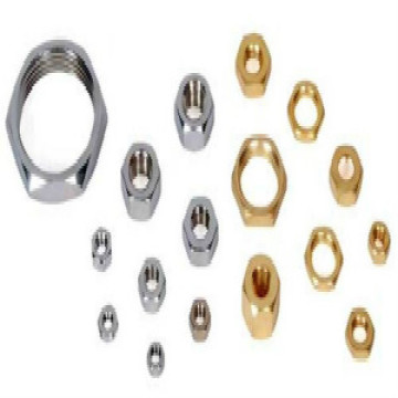 Precision hex brass nuts