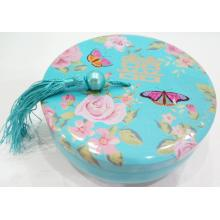 Blue Colour Candy Tin Box