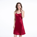 100% 19 Momme Silk Nightgown Short Chemise Nightdress