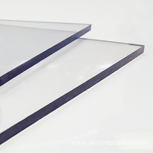 Excellent scratch resistant transparent polycarbonate sheet