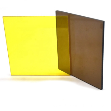 Quality bronze solid polycarbonate sheet plastic sheet