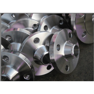 Alloy steel WN (welding neck) RTJ flange